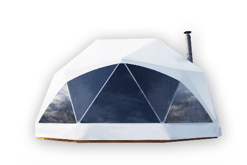 Geodesic tents - glamping