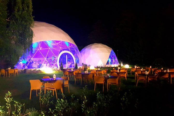 large event tent, large dome tent