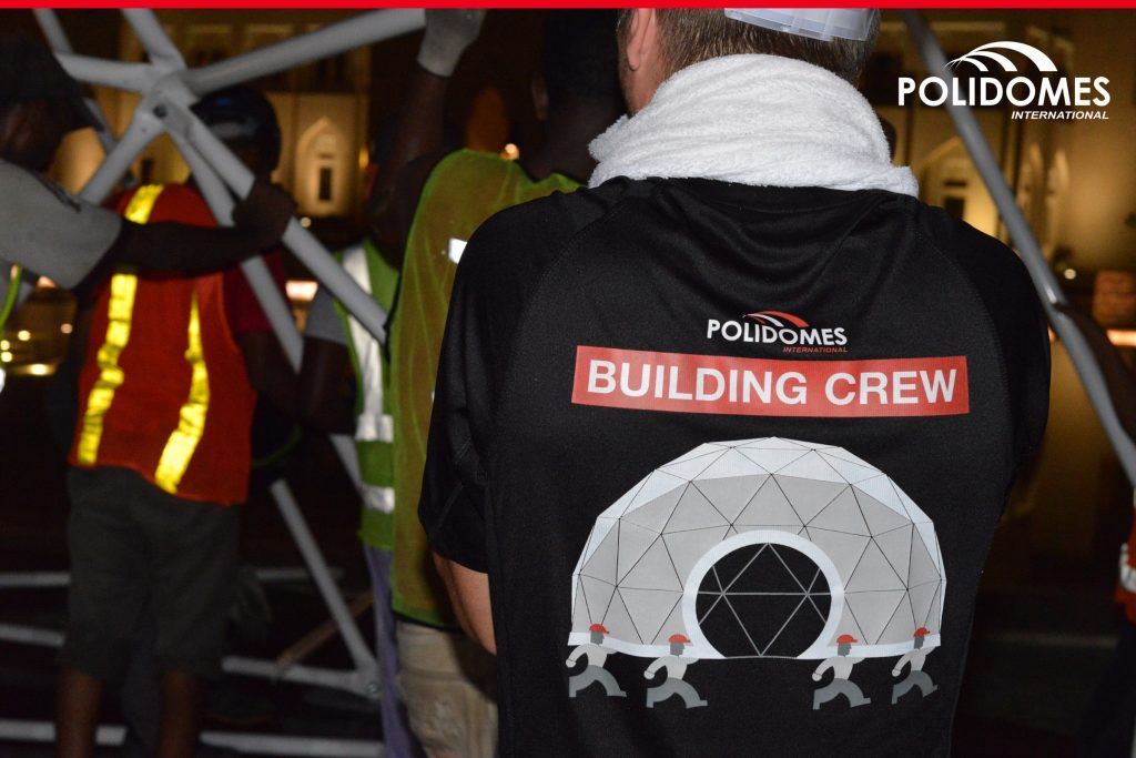 Building-crew-Polidomes
