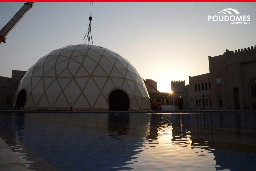 Doha-dome-setup