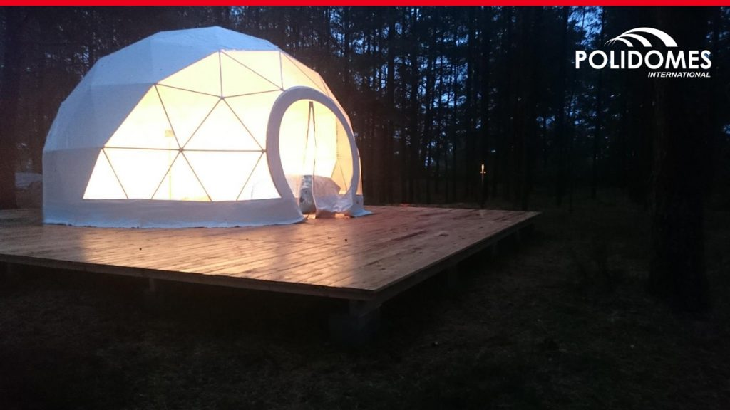 Kindergarten-dome-tent-by-Polidomes