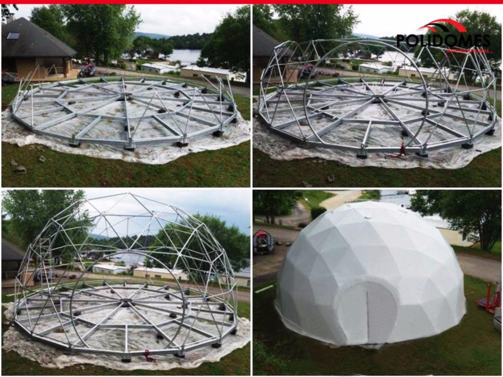 Polidomes-setup