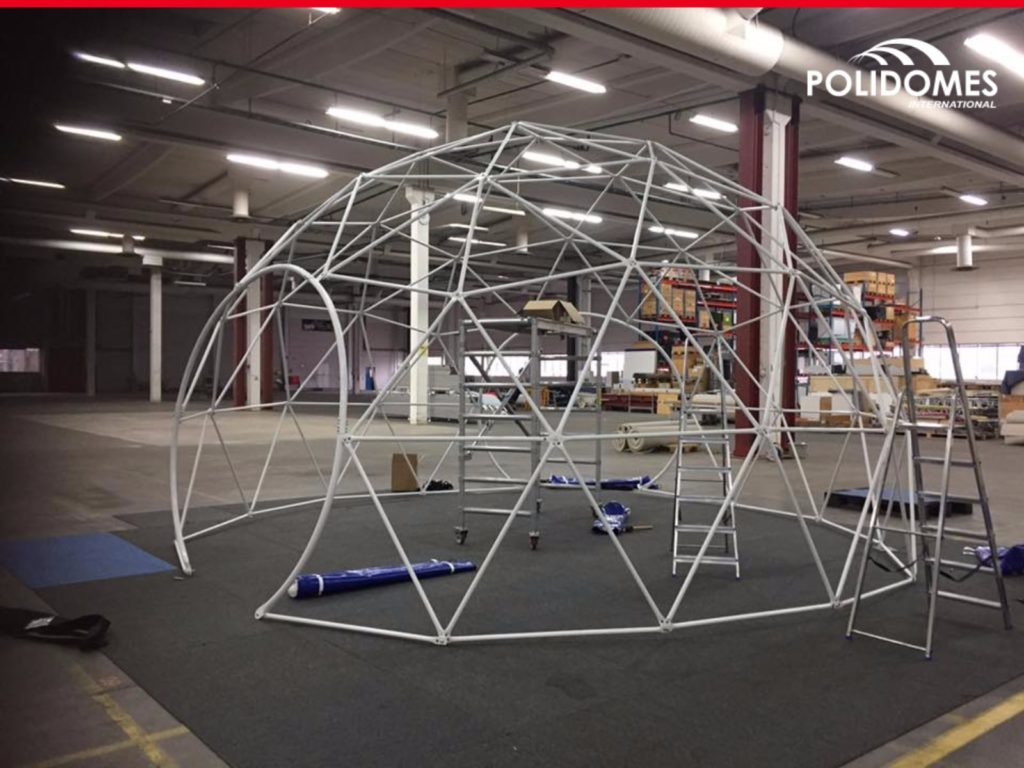 geodesic-dome-tent-framework