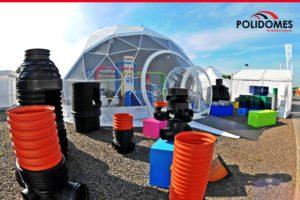 luxury geodesic dome kit