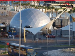 Geodesic dome tent in Alicante