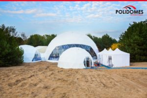 dome tent, geodesic dome tent, big party tent,