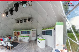 polidomes geodesic dome tent