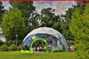 commercial geodesic dome Loreal