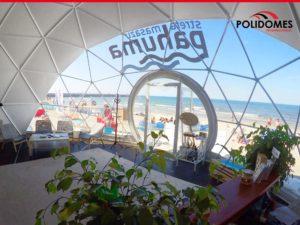 transparent geodesic dome kit