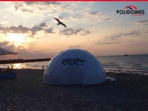 geodesic tent rentals